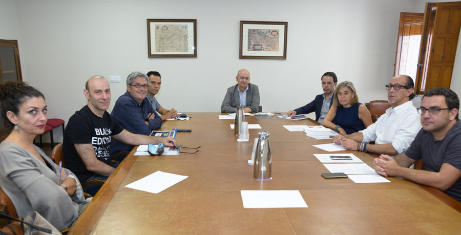 Reunión de trabajo en la Universidad de Salamanca