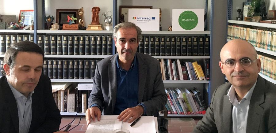 Reunión de coordinación de trabajos entre la Fundación Antonio Gala y la FGSR