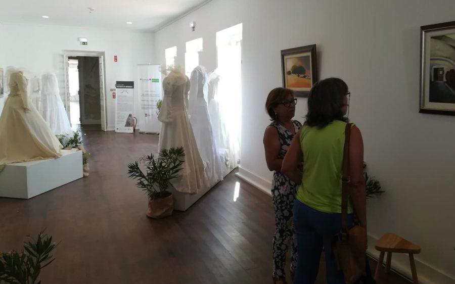 Vestidos de Memórias. Exposição de Vestidos de Noiva Antigos em Beja