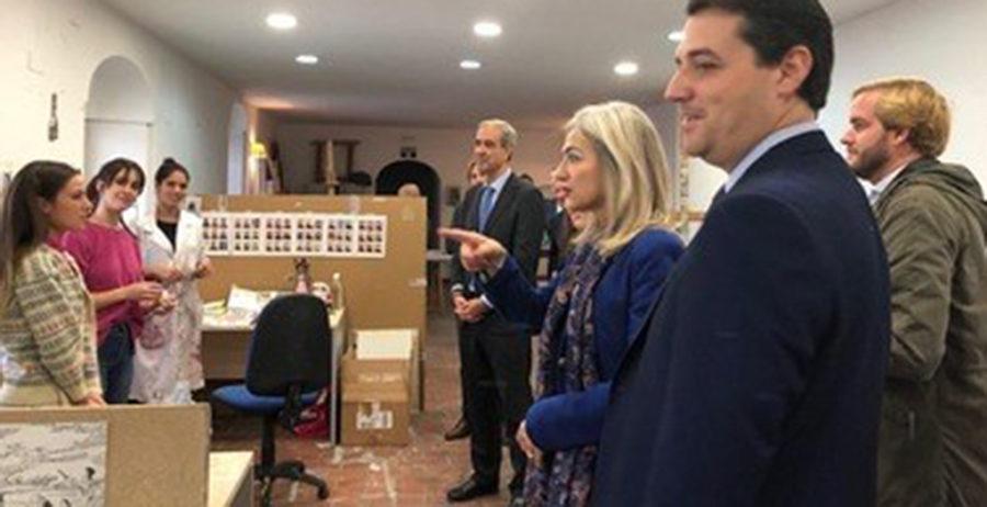 La consejera de cultura y el alcalde de Córdoba visitan la Fundación Antonio Gala