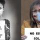 Colección de imágenes solidarias con las mujeres maltratadas